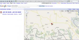 Ștefan Vodă на google maps